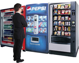 Bay Area Snack Vending Machines